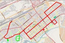 маршрут эстафеты олимпийского огня в Кургане|Фото: