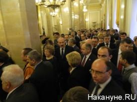 Послание Путина Федеральному собранию 12.12.13, толпа, чиновники|Фото: Накануне.RU