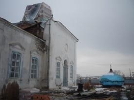 храм пожар Челябинская область Фото: ОГУ Противопожарная служба Челябинской области