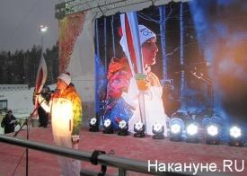 факел, эстафета, олимпийский огонь, гора долгая Фото: Накануне.RU
