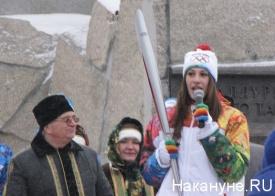 факел, эстафета, олимпийский огонь Фото: Накануне.RU