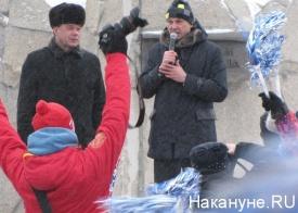 факел, эстафета, олимпийский огонь, Сергей Носов Фото: Накануне.RU
