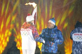эстафета Олимпийского Огня, Евгений Куйвашев|Фото: пресс-служба губернатора Свердловской области