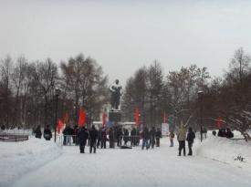 митинг против десоветизации в Перми Фото: fedotov1384.livejournal.com