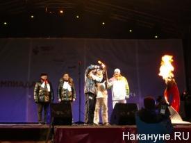 эстафета Олимпийского Огня в Кургане Олег Богомолов|Фото: Накануне.RU