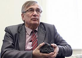 Виктор Гроховский, метеорит Челябинск Фото: УрФУ