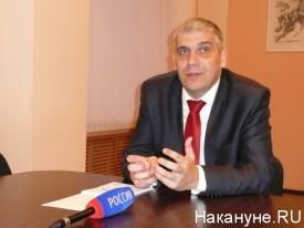 Роман Скиндерев и.о. ректора Курганского госуниверситета|Фото: Накануне.RU