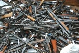 оружие автоматы ружья дробовики Фото: ГУ МВД РФ по Челябинской области
