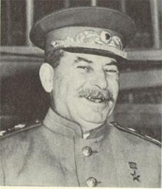 сталин улыбается Фото: