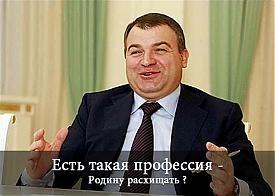 расхищение Родины, Сердюков, карикатура|Фото: