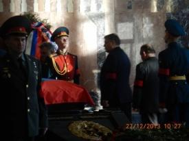 прощание с Михаилом Калашниковым|Фото: партия Родина