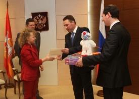 холманских, алена, подарок|Фото: пресс-служба полпреда