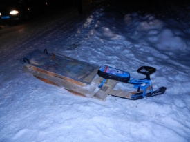 дтп, снегокат|Фото: пресс-служба ГИБДД Свердловской области