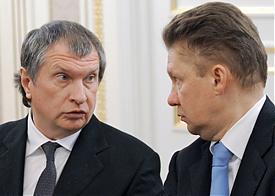 Игорь Сечин, Алексей Миллер|Фото: