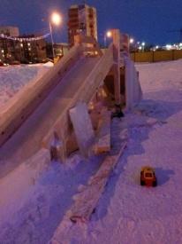 ледовый городок, нефтеюганск|Фото: