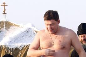 куйвашев, крещение митрополит кирилл, верхотурье|Фото: пресс-служба губернатора Свердловской области