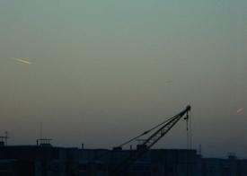 военный самолет, полоса, след, сургут|Фото: vk.com