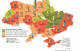 бюджет областей, украина, беспорядки|Фото:.investgazeta.net