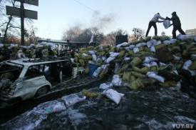 майдан, киев, баррикады|Фото:virtual.brest.by