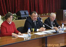 заседание штаба ОНФ, Косарев Николай, Валерий Якушев, Лариса Фечина|Фото: Накануне.RU