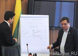депутатское слушание по тарифам на транспорте, Высокинский, Норицин|Фото: Накануне.RU
