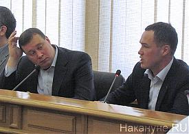 депутатское слушание по тарифам на транспорте, Илья Лобов, Алексей Курлыков |Фото: Накануне.RU