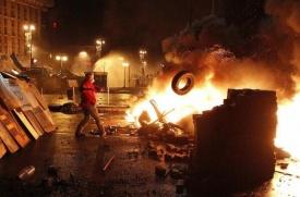 Майдан, киев, беспорядки|Фото: твиттер