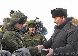 32-ой военный городок, награждение отличников боевой подготовки, Куйвашев|Фото: Накануне.RU