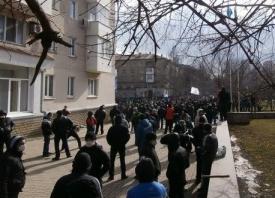 Донецк, митинг, антимайдан Фото: