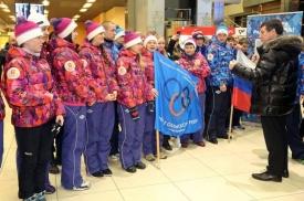 встреча в аэропорту, шипулин, скокова|Фото: facebook.com/dip.gubernator96