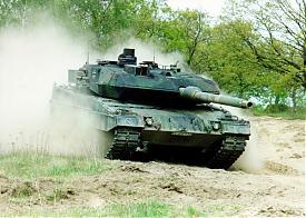 танк, leopard 2A6, леопард Фото: