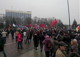 Одесса, антимайдан|Фото: vk.com/narodnay_druzina