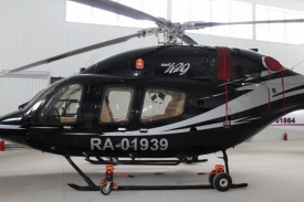вертолет Bell 429 экс-губернатора Челябинской области Михаила Юревича|Фото: Челябинский областной фонд имущества