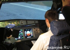 пилот, кабина, самолет, тренажер, Уральские авиалинии|Фото: Накануне.RU