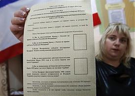 Референдум, Крым, голосование Фото: