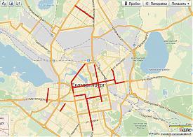 Карта необходимых обособлений трамвайных путей|Фото: serebriany.livejournal.com