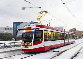 новый трамвай|Фото: serebriany.livejournal.com