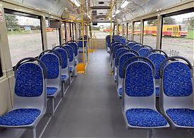 трамвай после модернизации|Фото: serebriany.livejournal.com