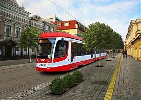 перспективный трамвай, 8 марта|Фото: Алексей Быков