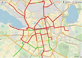Карта планируемых трамвайных линий, зеленый цвет|Фото: serebriany.livejournal.com