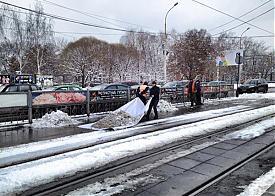 снегопад, уборка улиц, Екатеринбург|Фото: facebook.com/ivan.solomin