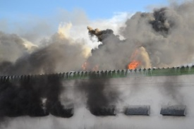 пожар Равис птицефабрика Фото: ГУ МЧС РФ по Челябинской области