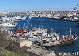 Крым Севастополь бухта Южная Фото: Накануне.RU