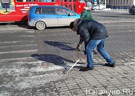Сахович-Канаровский, уборка, улица, грязь|Фото: Накануне.RU