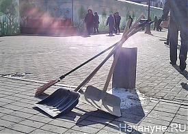Сахович-Канаровский, уборка, улица, грязь, лопаты|Фото: Накануне.RU
