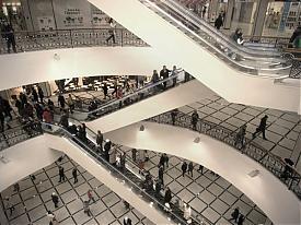 Гринвич четвертая очередь торговый центр молл тц трц эскалатор|Фото:Накануне.RU