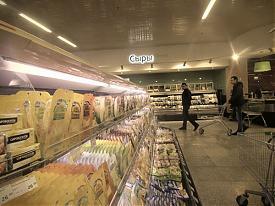 Гринвич Гипербола магазин супермаркет сыр прилавок витрина|Фото:Накануне.RU