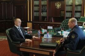 Борис Дубровский и Виктор Брант|Фото: gubernator74.ru