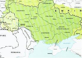 Украины, Крым, Херсонская губерния, Одесса, карта 1918 год Фото: