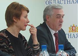 Круглый стол, реформа местного самоуправления, Чечунова, Силин|Фото: Накануне.RU